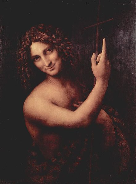 Salai as John the Baptist  c. 1514