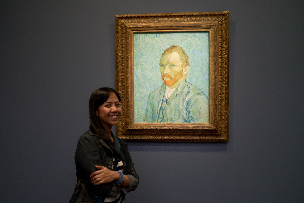 Finally face to face with my favorite painter, Van Gogh at the Musee d'Orsay.