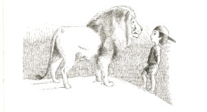 """2010. """"Face to Face 2."""" Book illustration."""