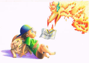 "2010. ""Phoenix Mail."" Book illustration."